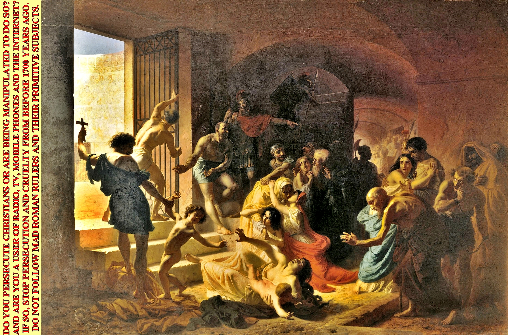 an analysis of the early christian martyrs by daniel boismier The early christian martyrs by daniel boismier leng 101 22 february 2003 outline the early christian martyrs were as courageous as they were numerous.