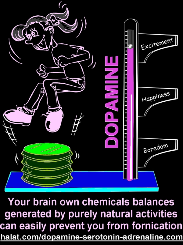 jYour brain own chemicals balances generated by purely natural activities can easily prevent you from fornication