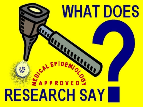 What does medical epidemiology approved research say to oppose junk science and to counteract scientific hoax
